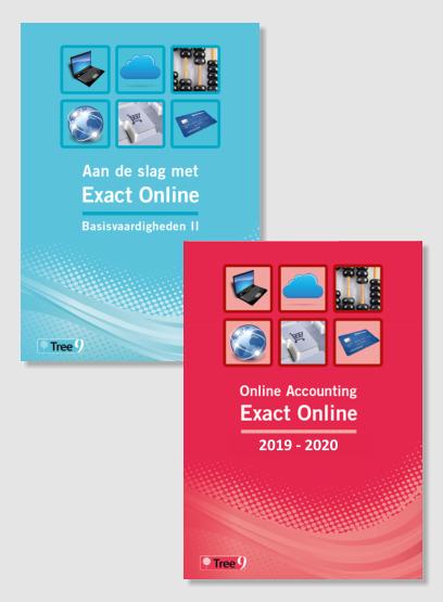 studieboek exact online nederlands en studieboek exact online engels