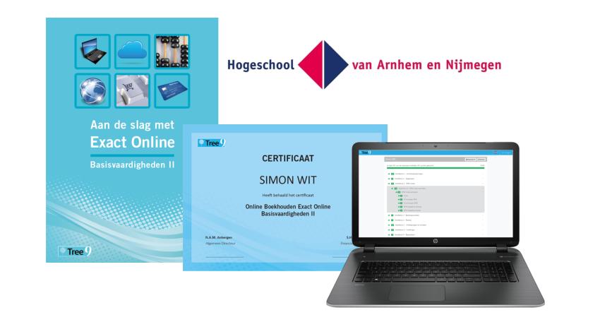examen exact online hogeschool van Arnhem en Nijmegen
